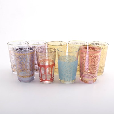 Moroccan Style Tea Glasses