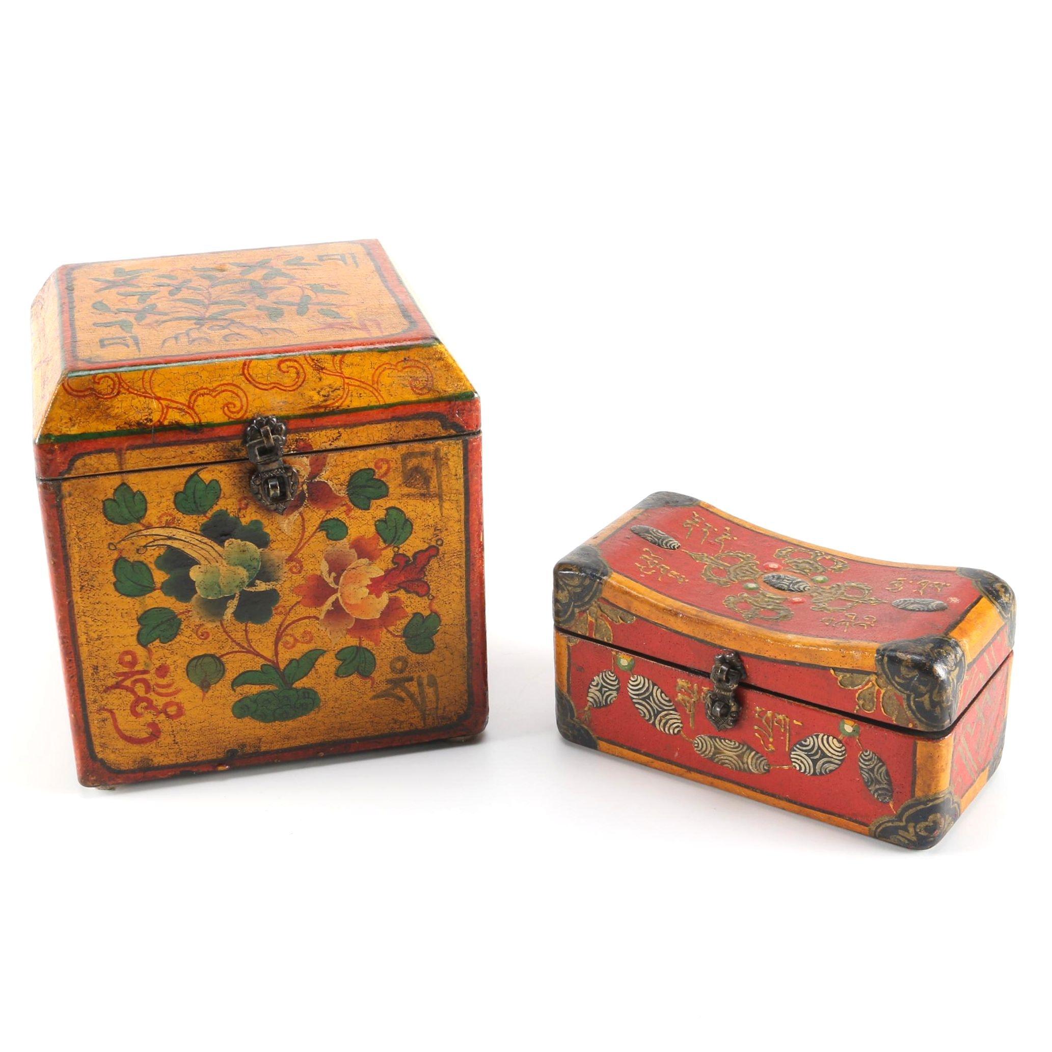 Tibetan Decorative Boxes