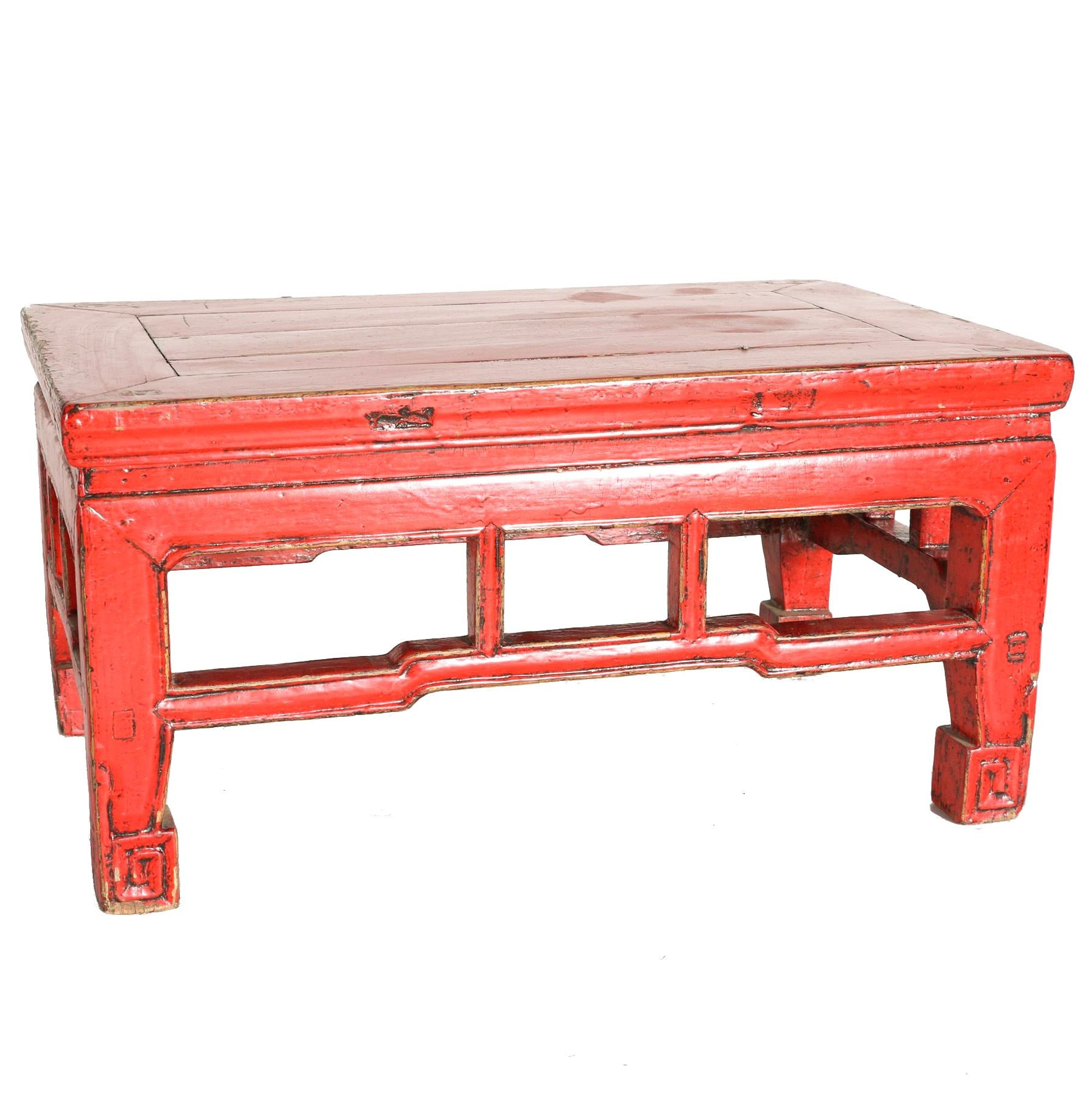 Vintage Chinese Wood Bench