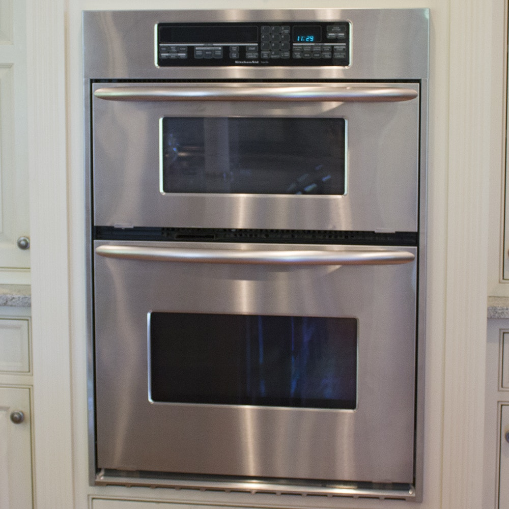 KitchenAid Superba Convection Wall Oven With Built In Microwave ...