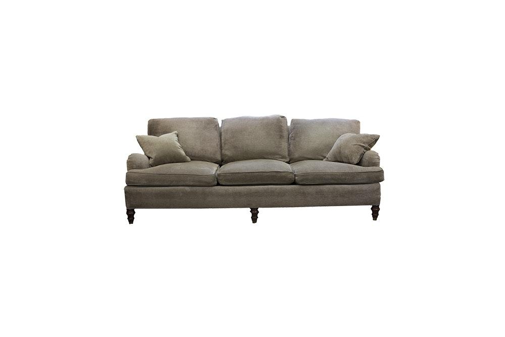 TRS Furniture Sage Chenille Down Foam Filled Sofa