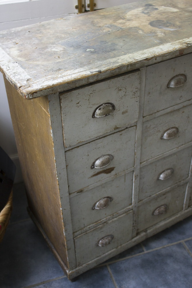Vintage Apothecary Chest Of Drawers Ebth