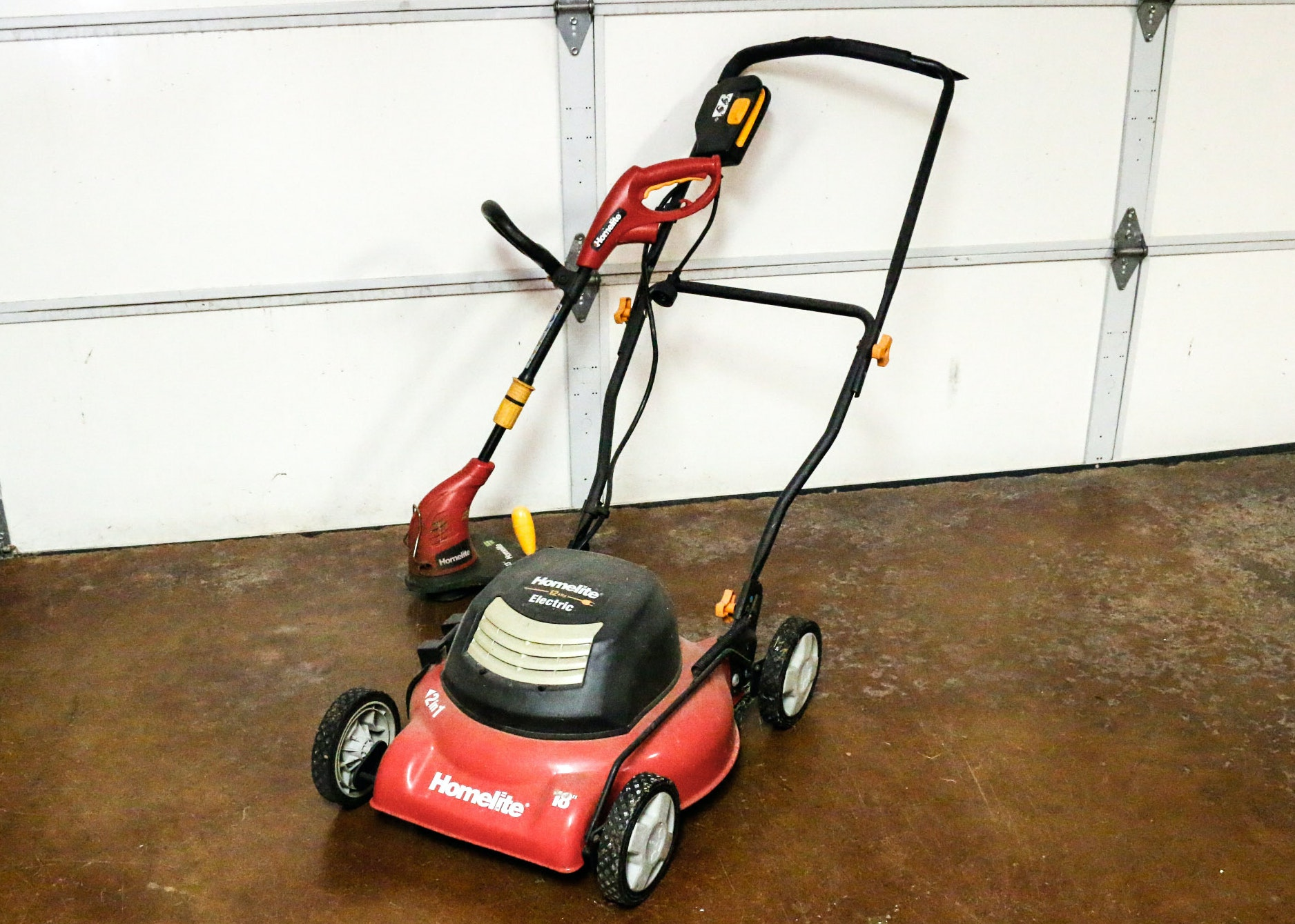 homelite lawn mower and weed eater ebth rh ebth com homelite lawn mower manual homelite lawn mower spares uk