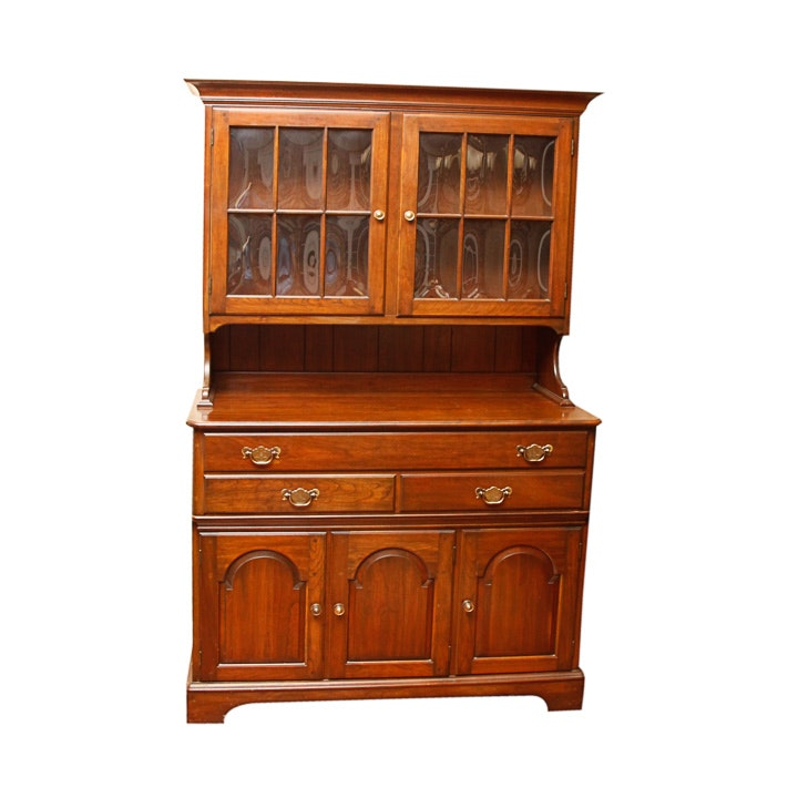 Vintage Chippendale Style Sideboard With Hutch by Pennsylvania House