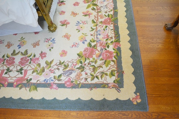 Rug Gallery Machine Woven Synthetic Floral Area Rug Ebth