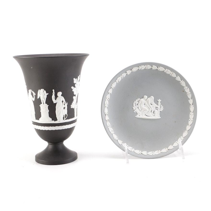 Wedgwood Vase And Saucer Ebth