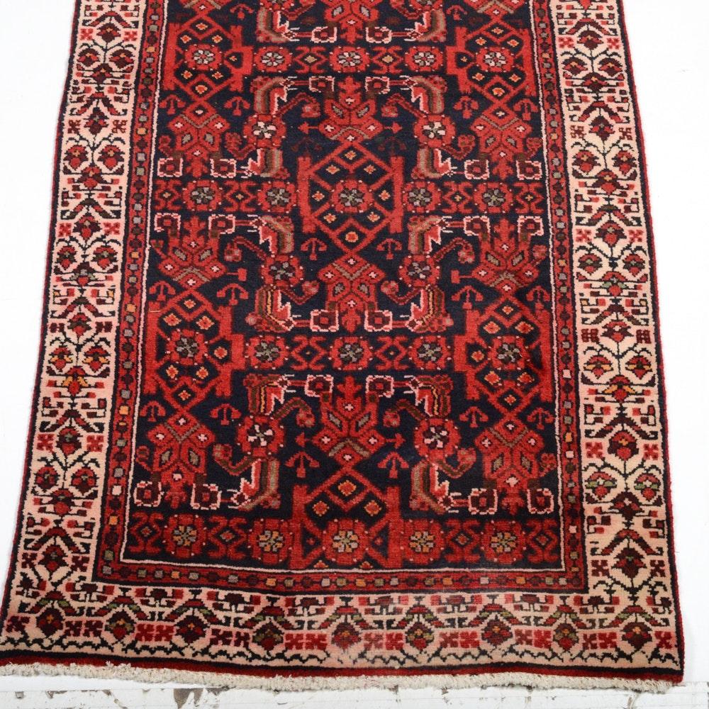 1930s Persian Lilihan Mallayer Sarouk Carpet Runner