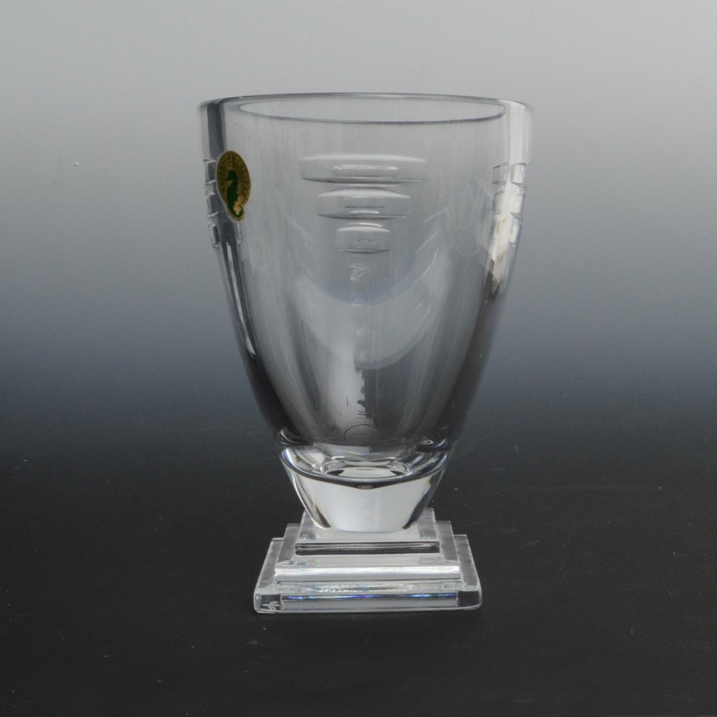 """Waterford Crystal """"Metropolitan"""" Vase"""