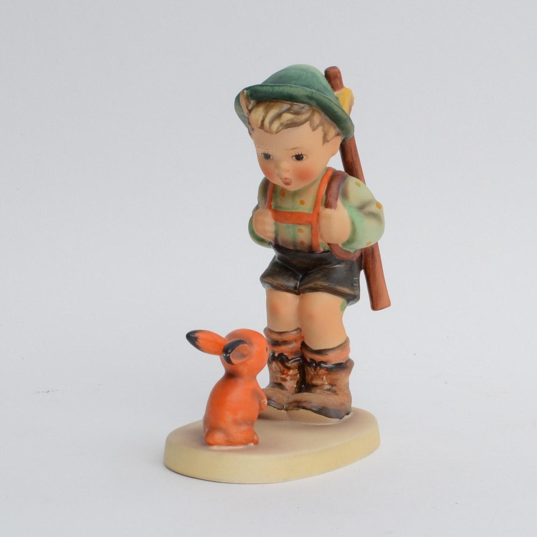 "Goebel Hummel Figurine ""Sensitive Hunter"""