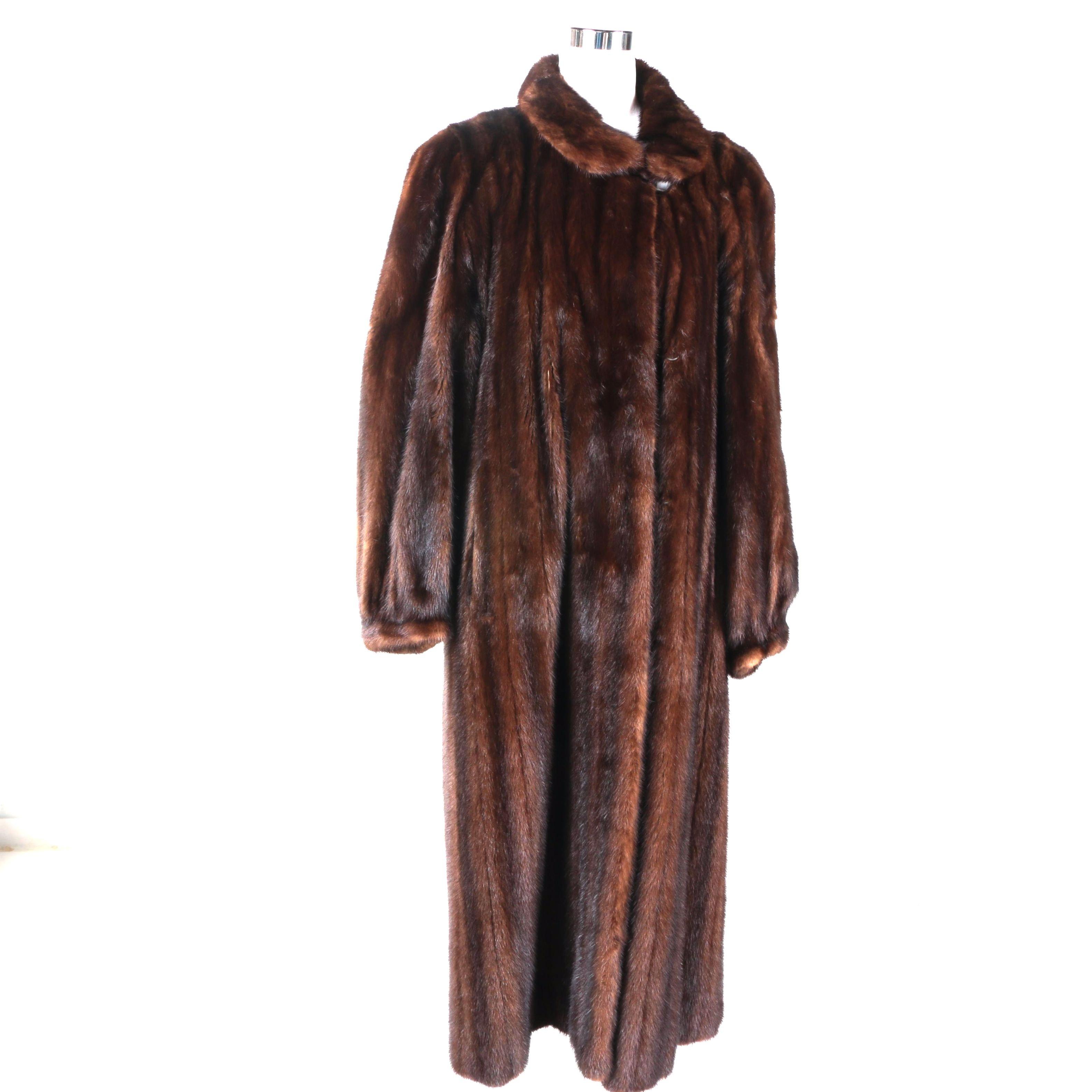 Nordstrom Mink Coat