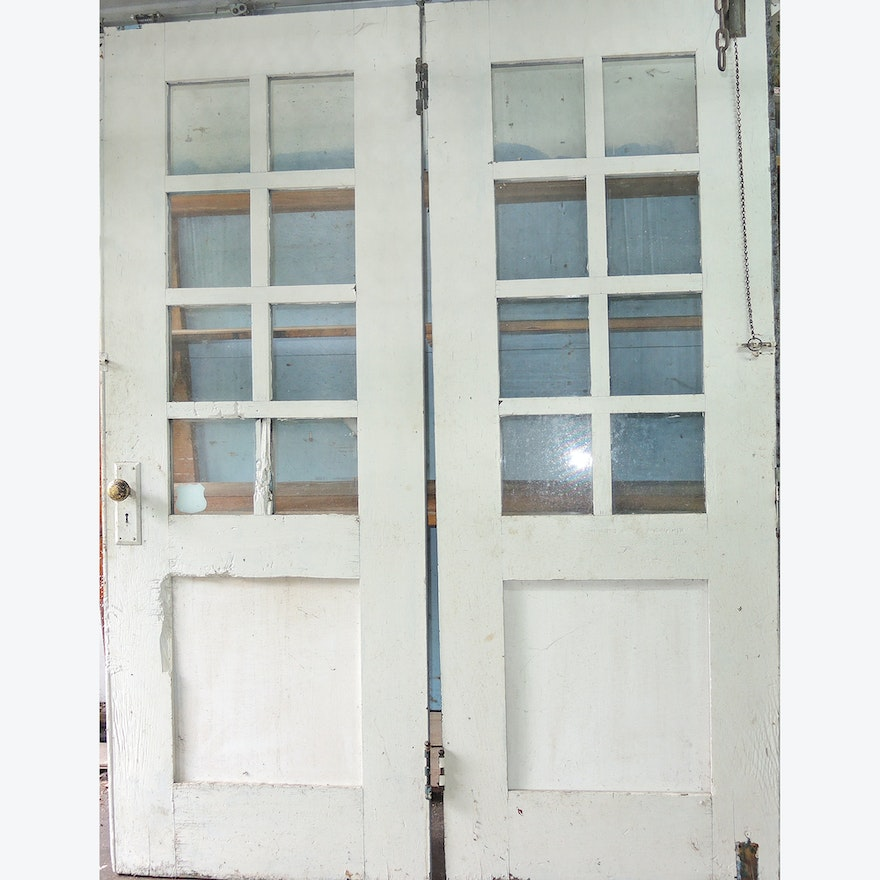 Architectural Salvage French Doors Ebth