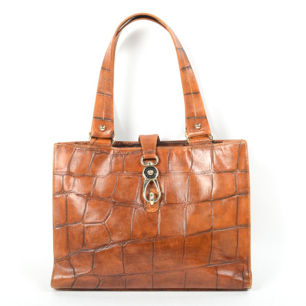 Dooney & Bourke Textured Leather Handbag