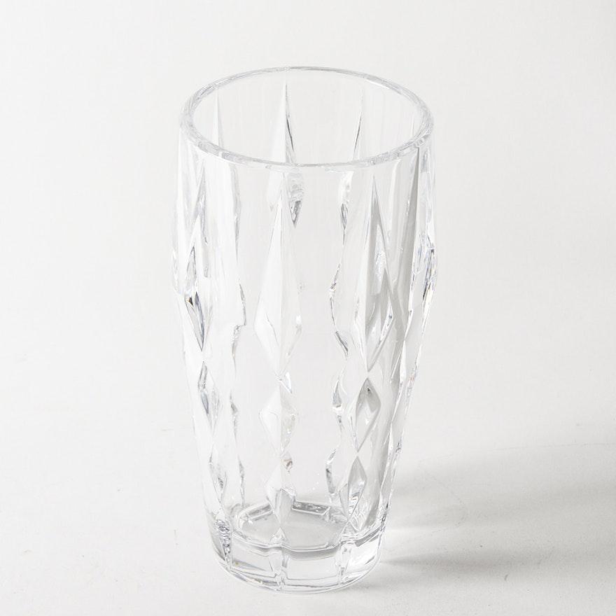 Vera Wang For Wedgwood Crystal Vase Ebth