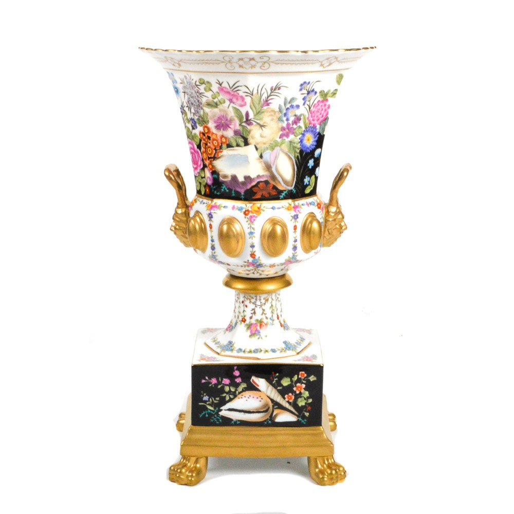 Chelsea House Hand-Painted Decorative Urn