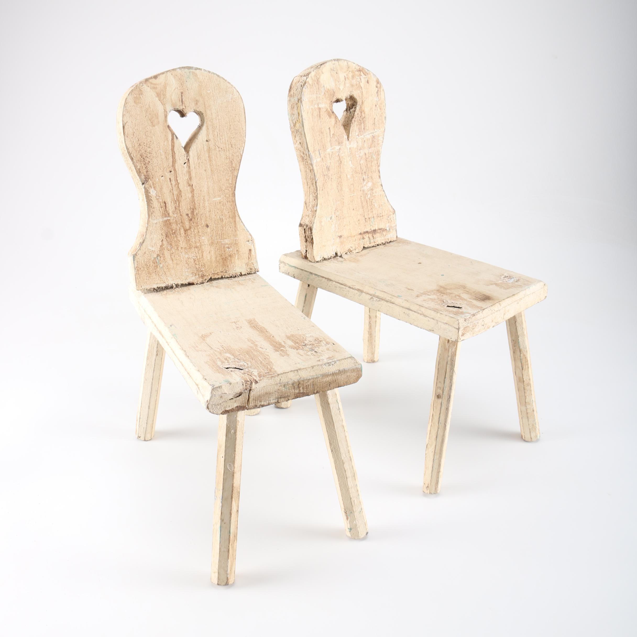 Handmade Childrenu0027s Primitive Chairs ...