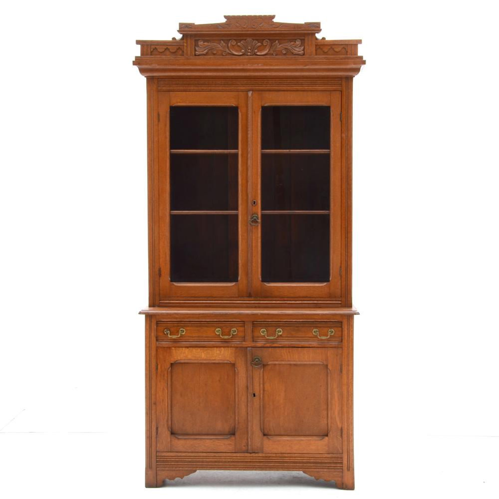 Antique Oak Cabinet : EBTH