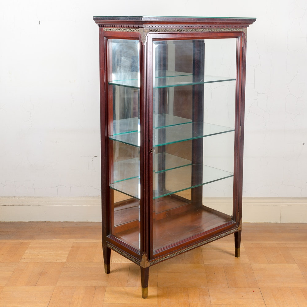 Neoclassical Style Display Cabinet