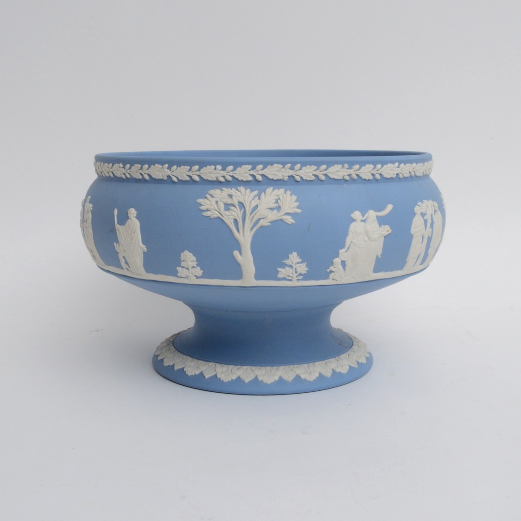 Jasperware Centerpiece Bowl