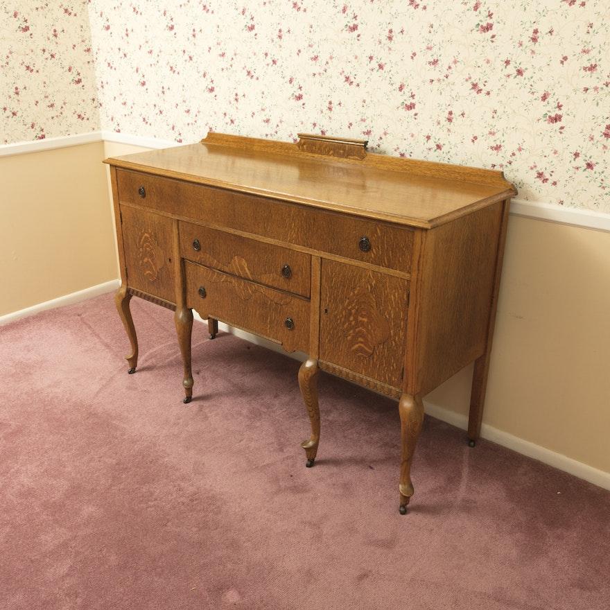 20th Century American Furniture Identification: Early 20th Century Reaser Furniture Co. Quartersawn Oak