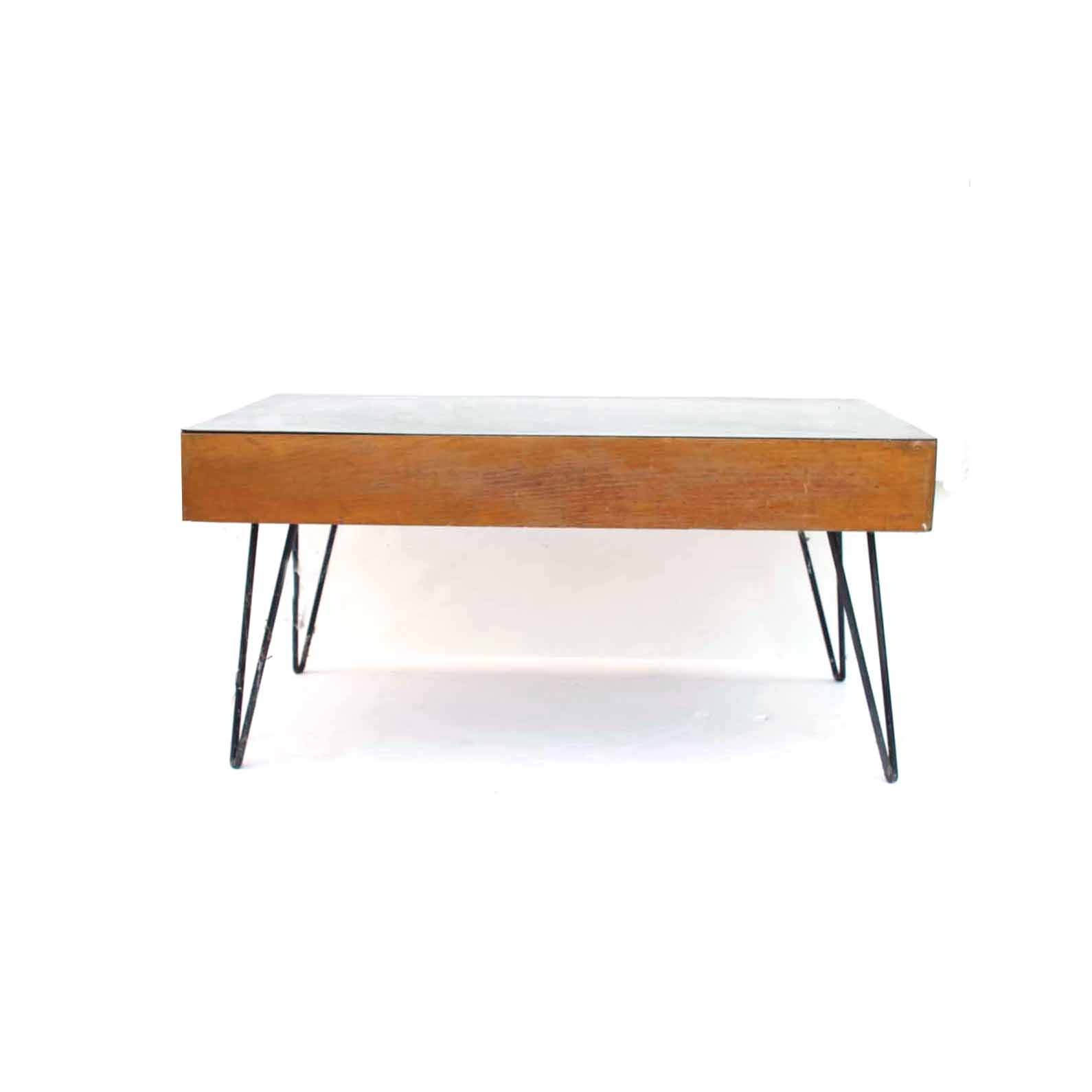 Mid Century Hairpin Table