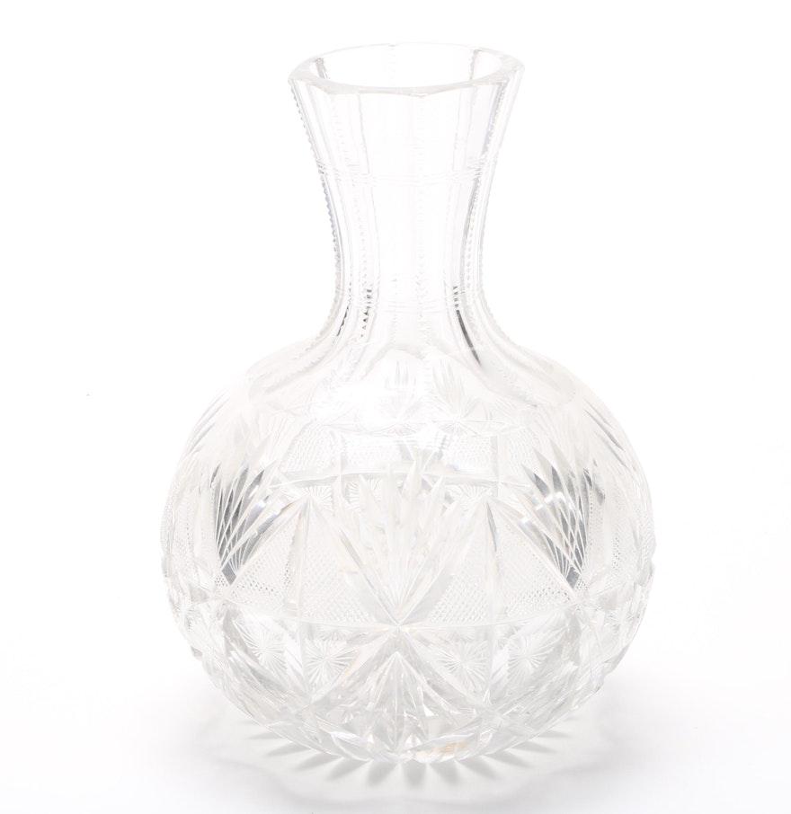 Cut glass bud vase ebth cut glass bud vase reviewsmspy