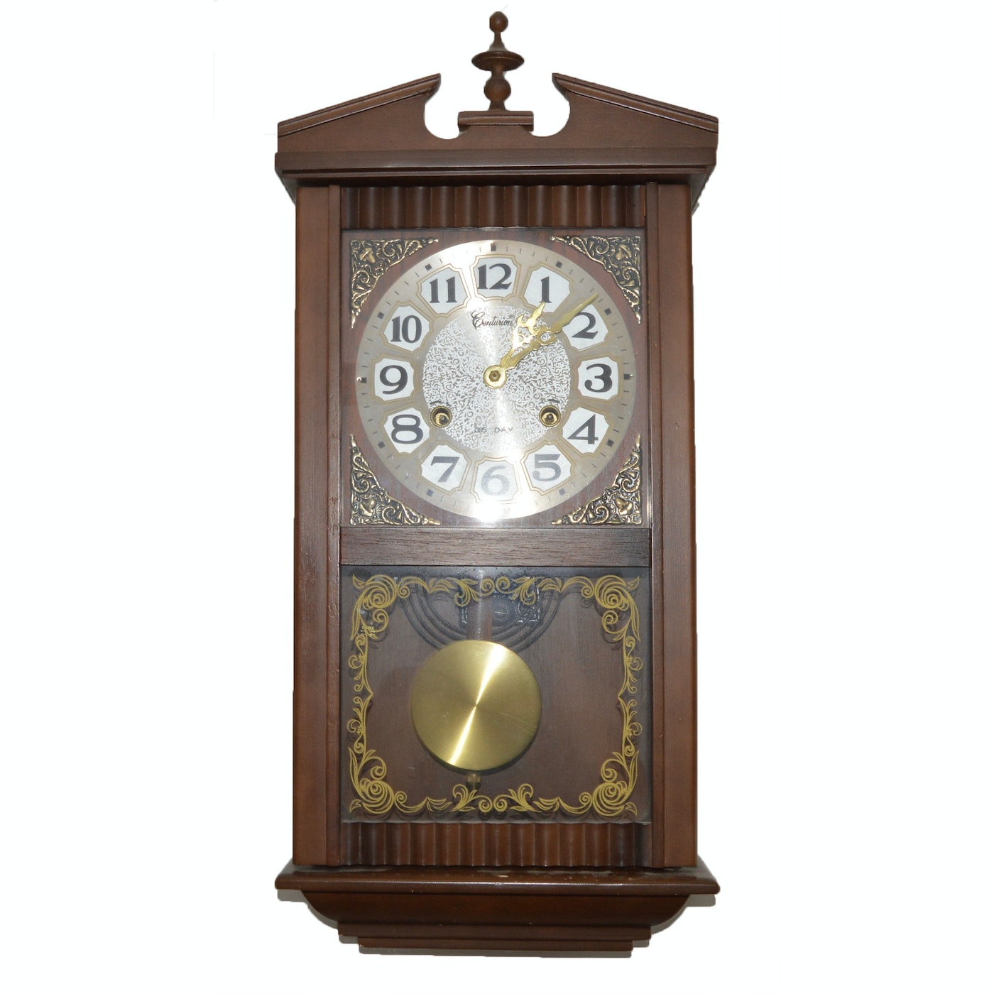 Centurion Quot 35 Day Quot Grandfather Style Wall Clock Ebth