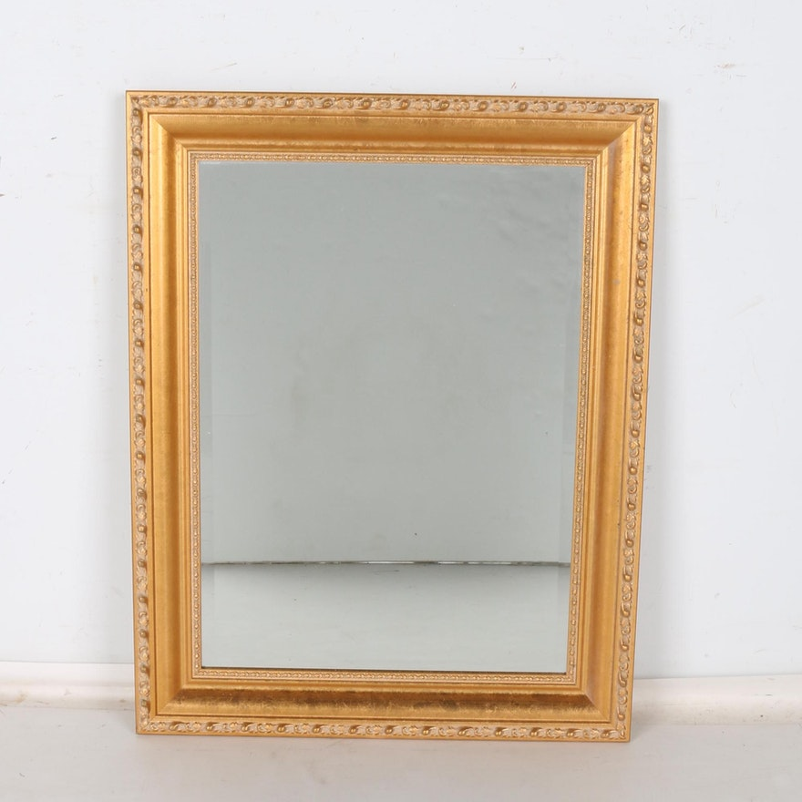 8f26c1e903b Gold Tone Wall Mirror