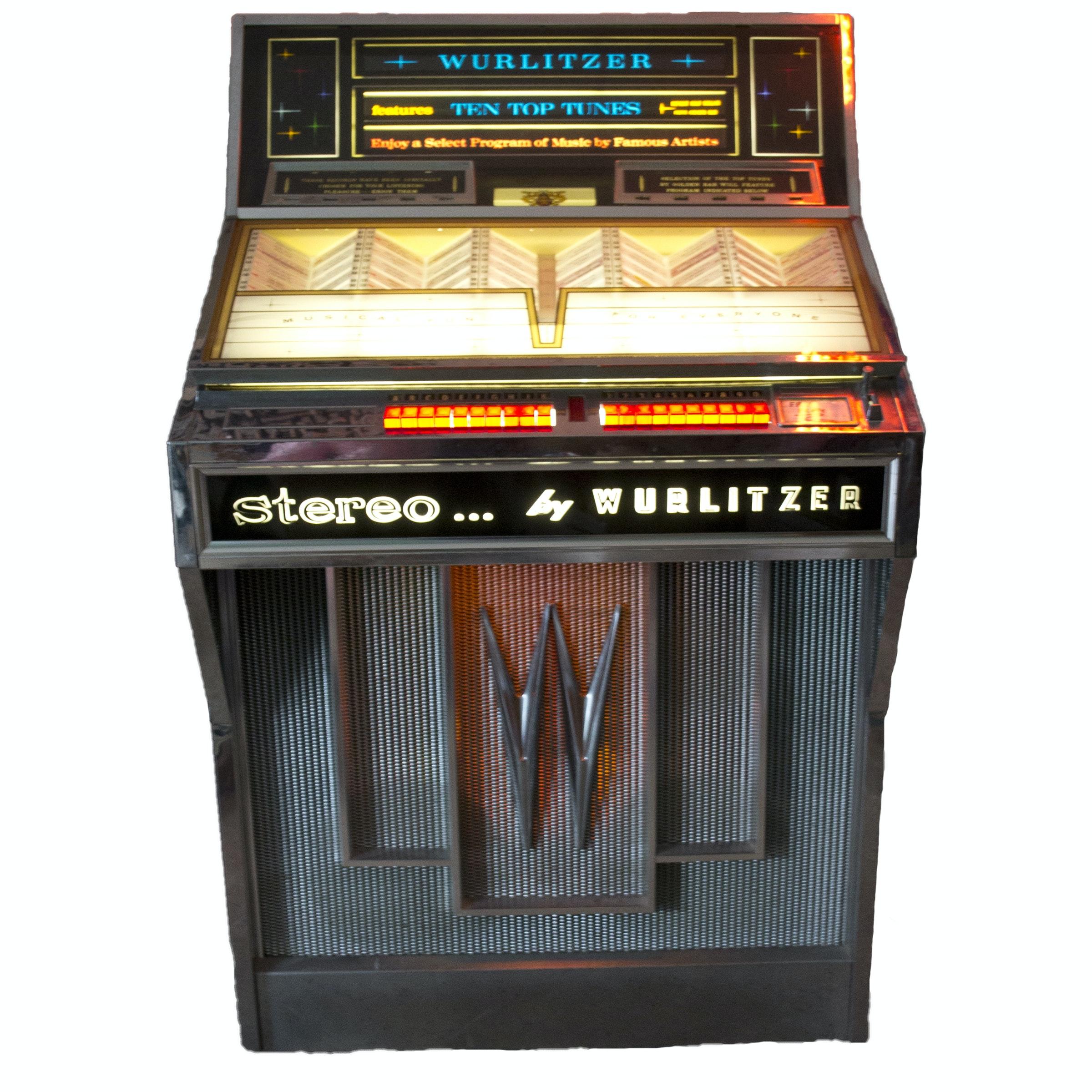 1960s Wurlitzer Model 2810 Jukebox