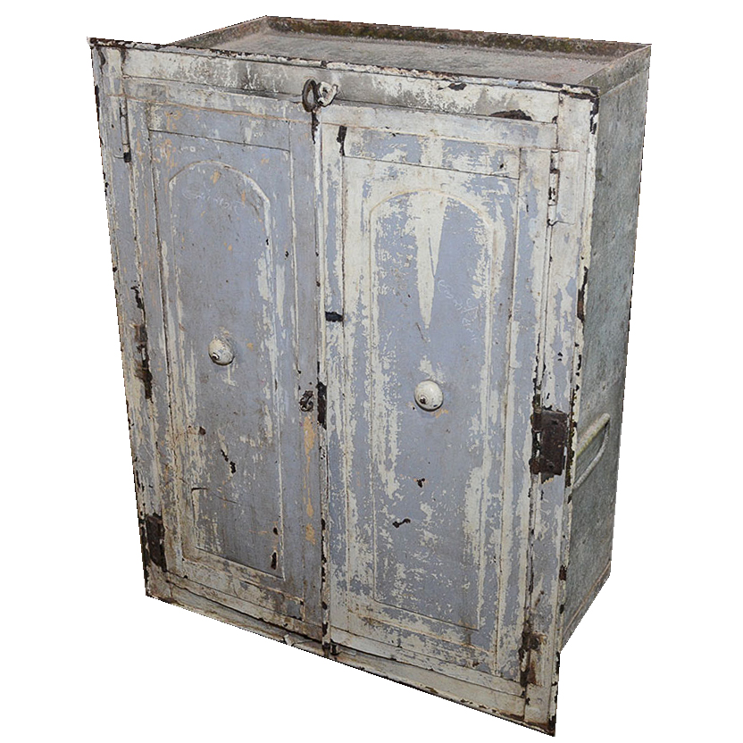 Vintage Metal Wall Cabinet : EBTH
