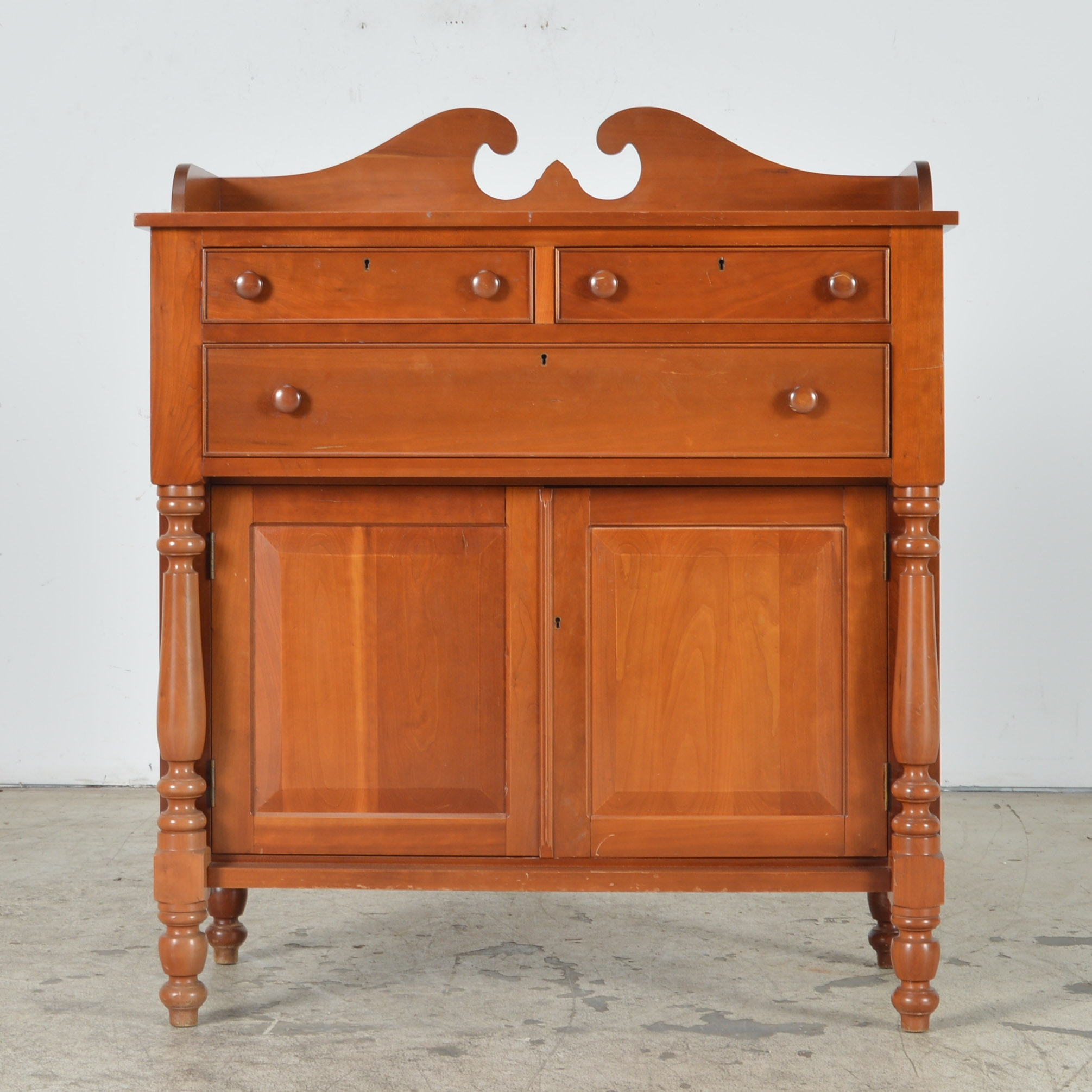 Cherry Reproduction American Empire Style Sideboard By Cassady Furniture  Co. Of Bowling Green, KY ...