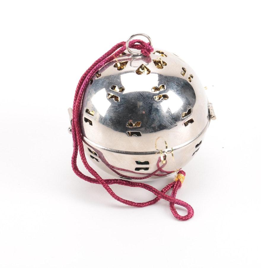 Friendship ball ornament - Alda S Friendship Ball Ornament