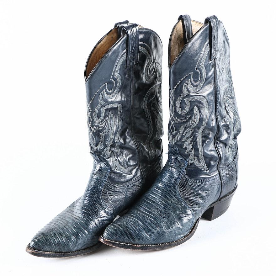 017475a5461 Vintage Tony Lama Men's Cowboy Boots