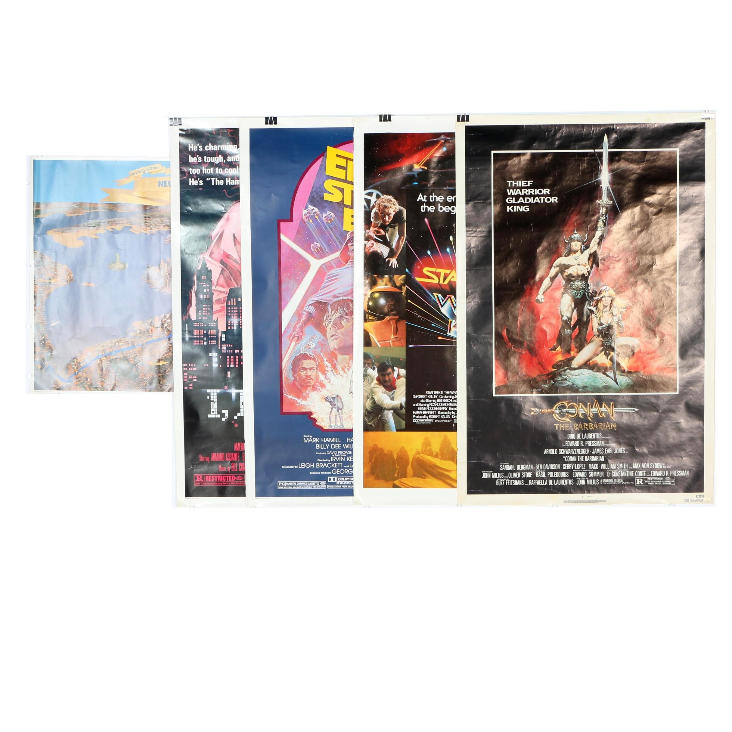 Collection of 1980s Posters