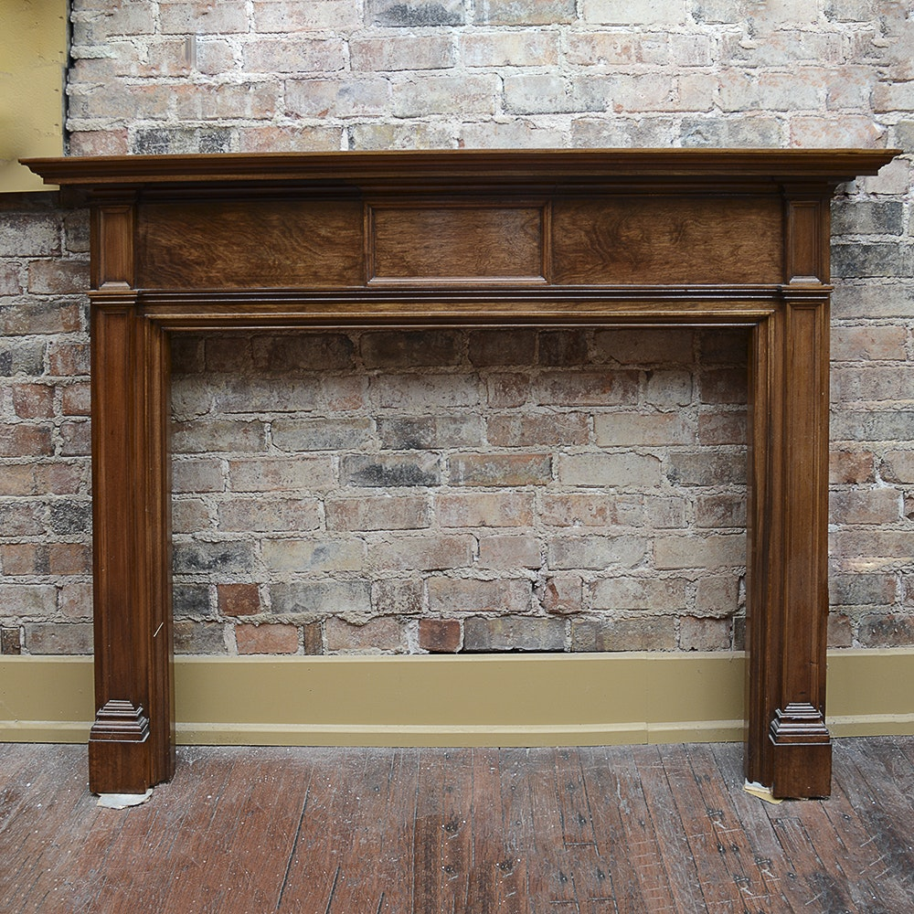 Solid Cherry Fireplace Mantel