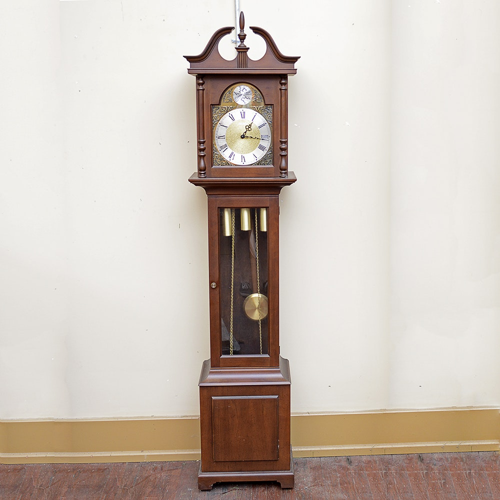 "Barwick ""Tempus Fugit"" Grandmother Clock"