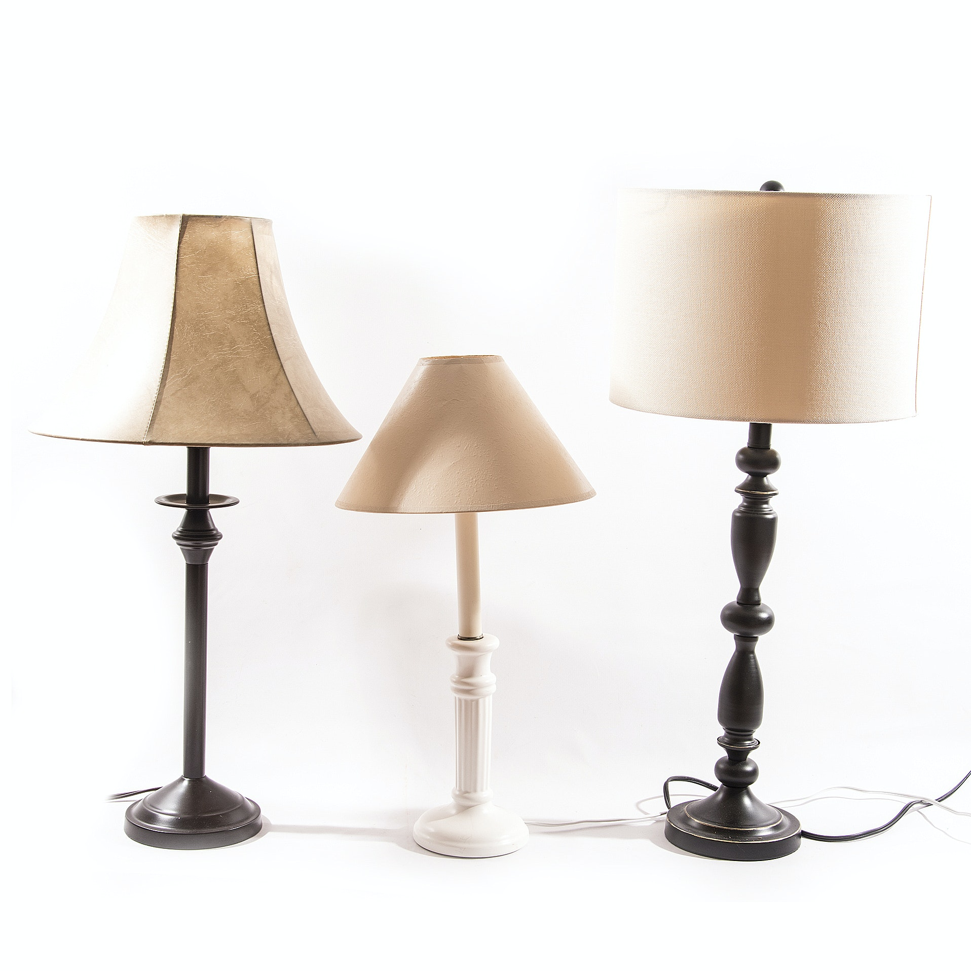 Assorted Table Lamps
