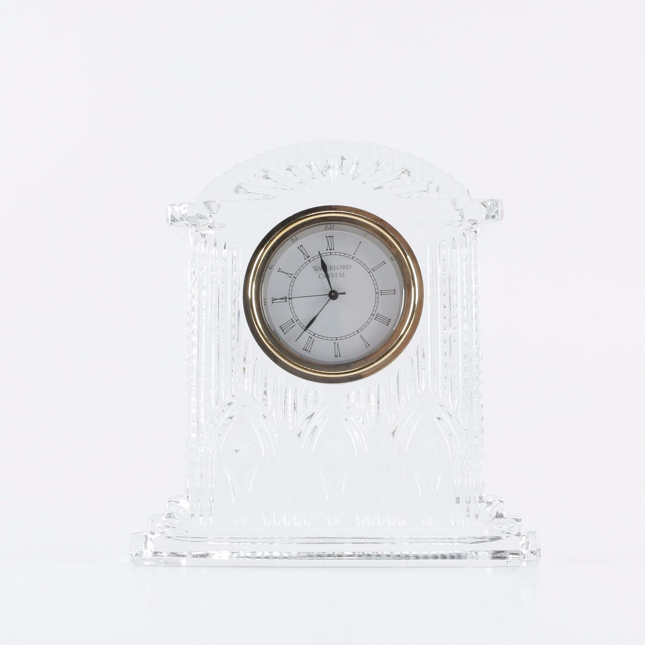 "Waterford Crystal ""Westminster""  Mantel Clock"