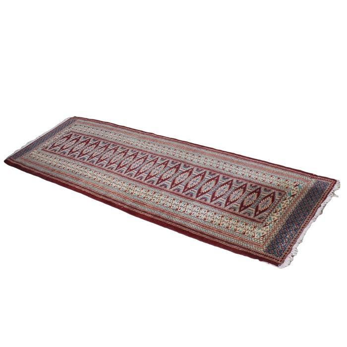 Hand Knotted Pakistani Jaldar Carpet Runner
