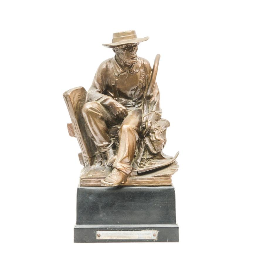 Ohio Farmers Insurance Company Honorary Award Statue Ebth