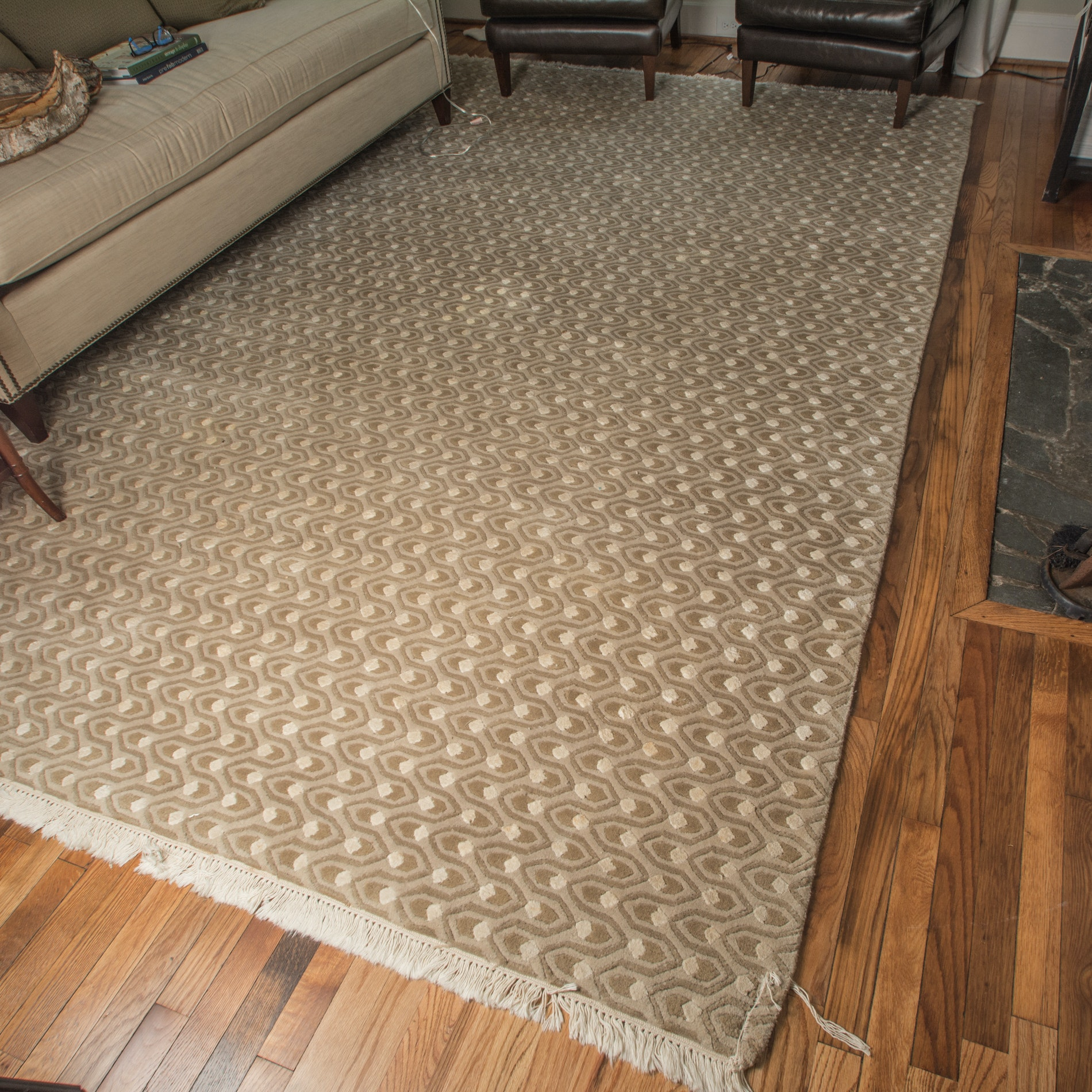 Handwoven Contemporary Area Rug