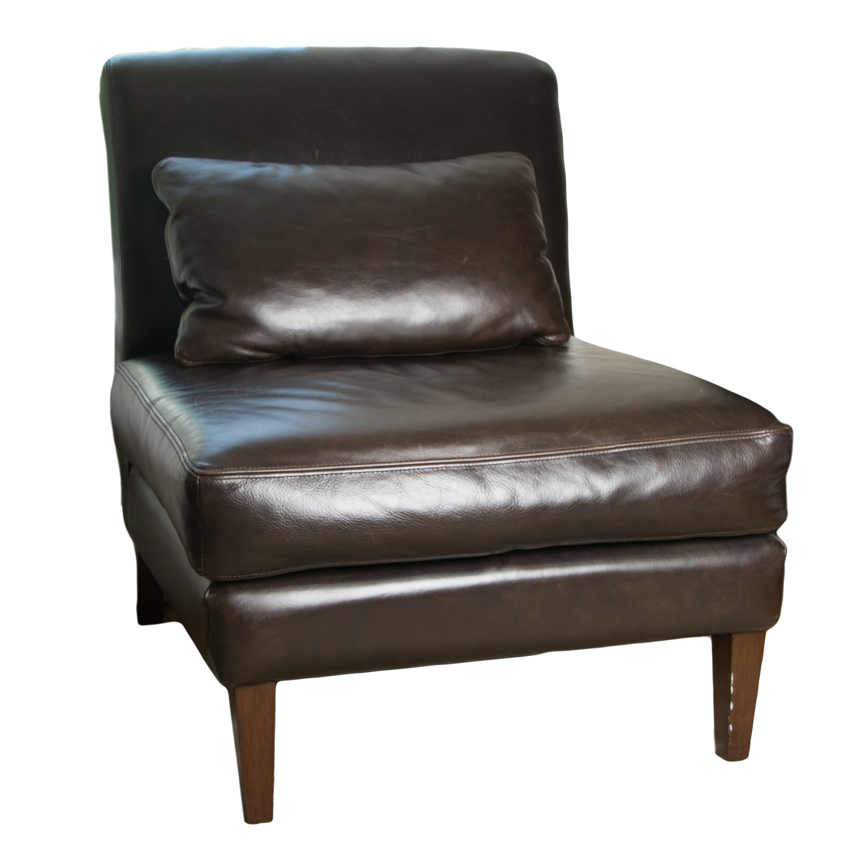 Pottery Barn Turner Leather Chair ...
