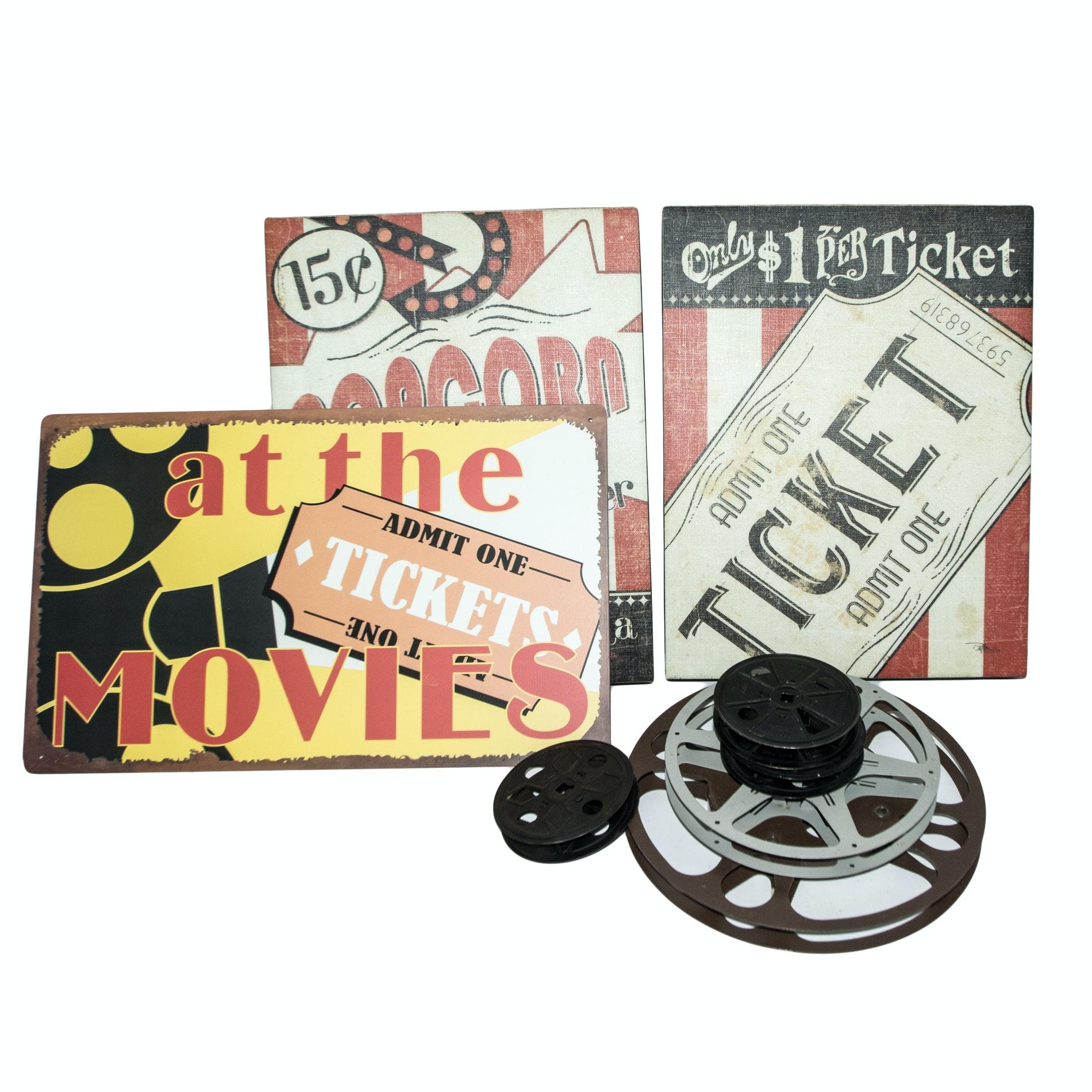 Movie Theatre Decor