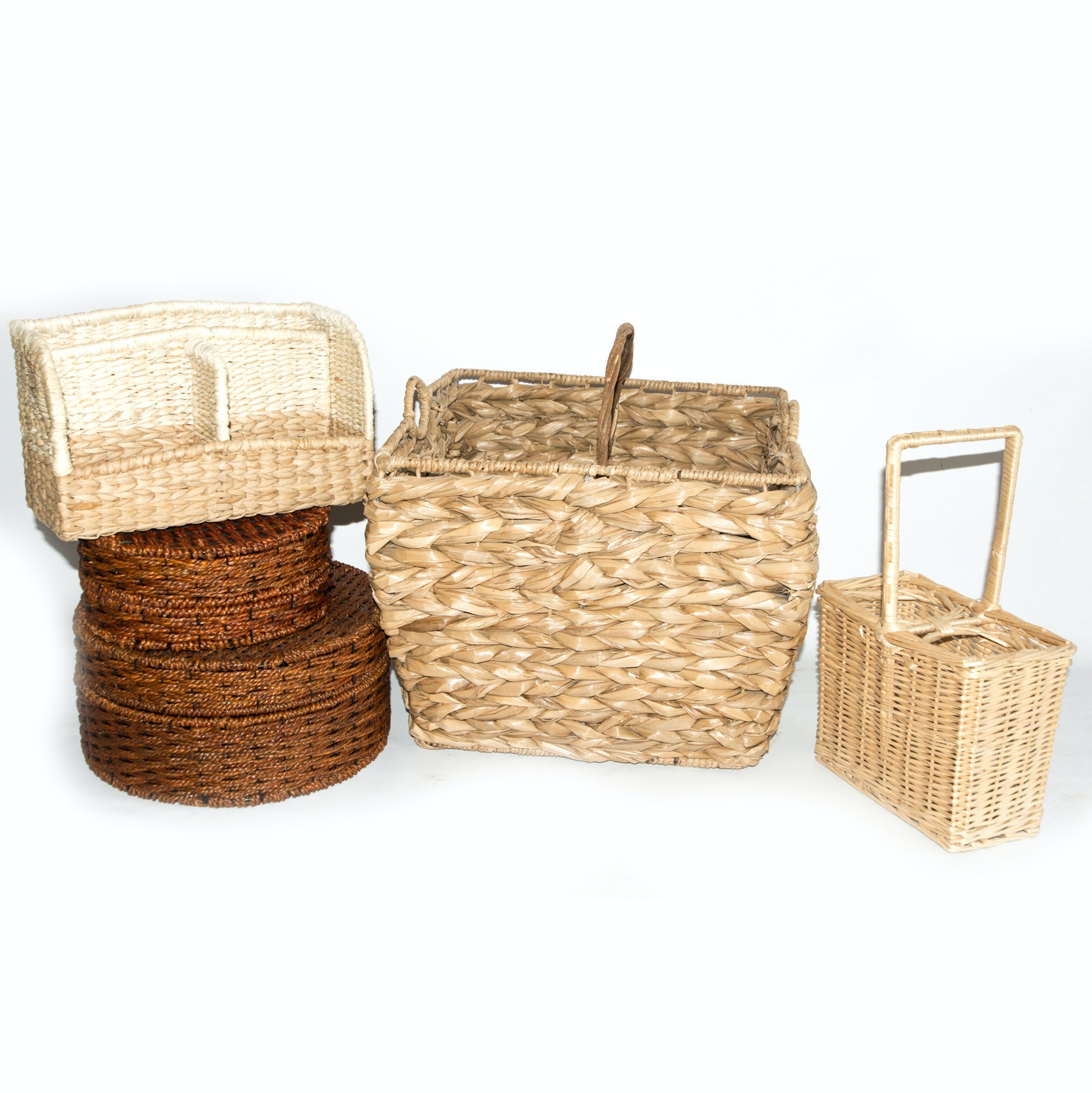 Assortment of Wicker Baskets