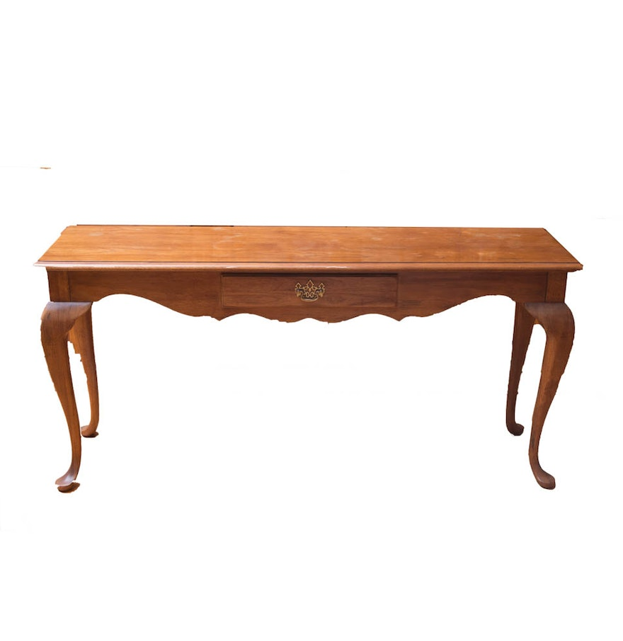 Thomasville fisher park console table ebth thomasville fisher park console table geotapseo Gallery