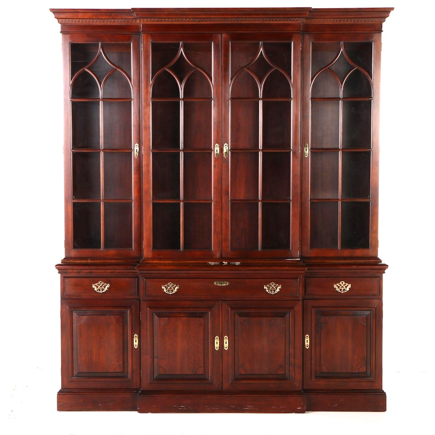 Statton Solid Cherry Lighted China Cabinet