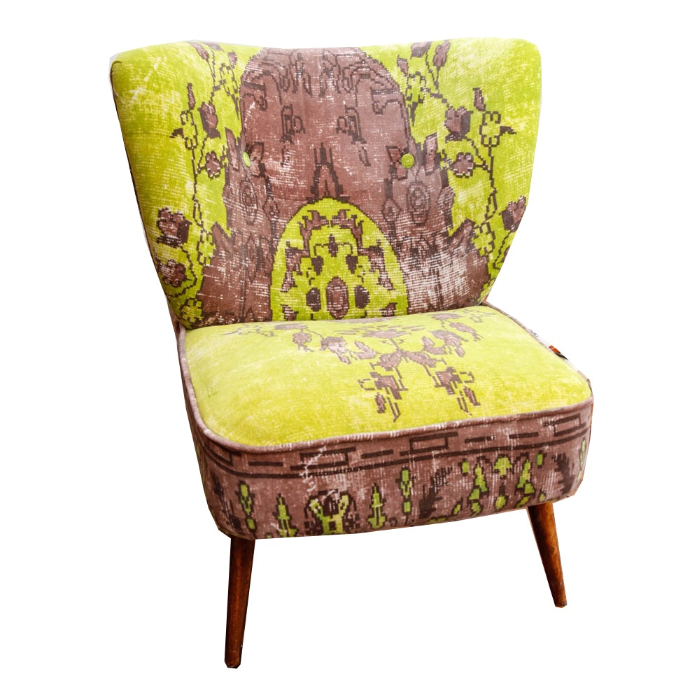 Mid Century Modern Upholstered Accent Chair
