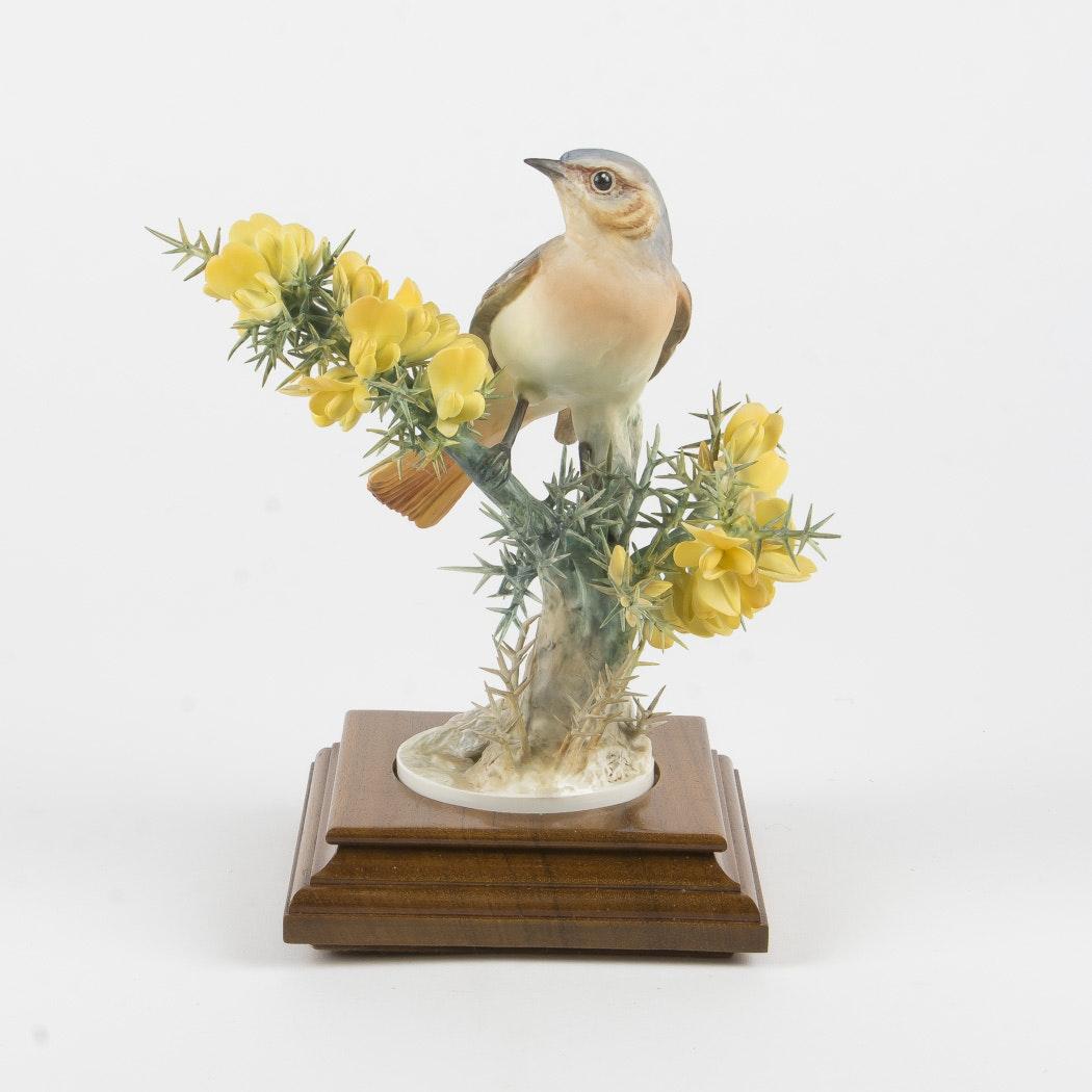 "Royal Worcester Dorothy Doughty ""Redstart Reticulla"" Figurine"