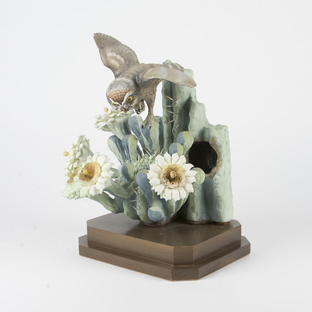 "Royal Worcester Dorothy Doughty ""Moonlight Elf Owl"" Figurine"