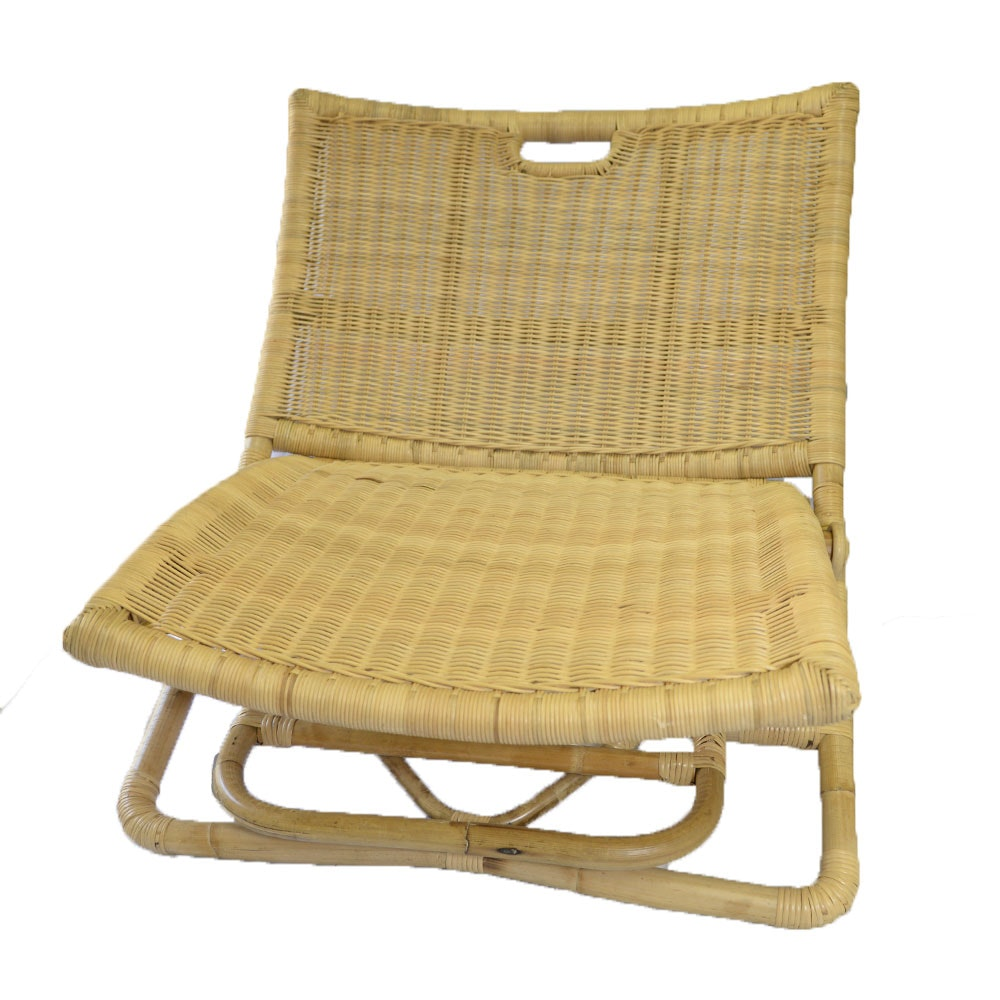 Bamboo and Woven Rattan Palisades Chair by Serena & Lily