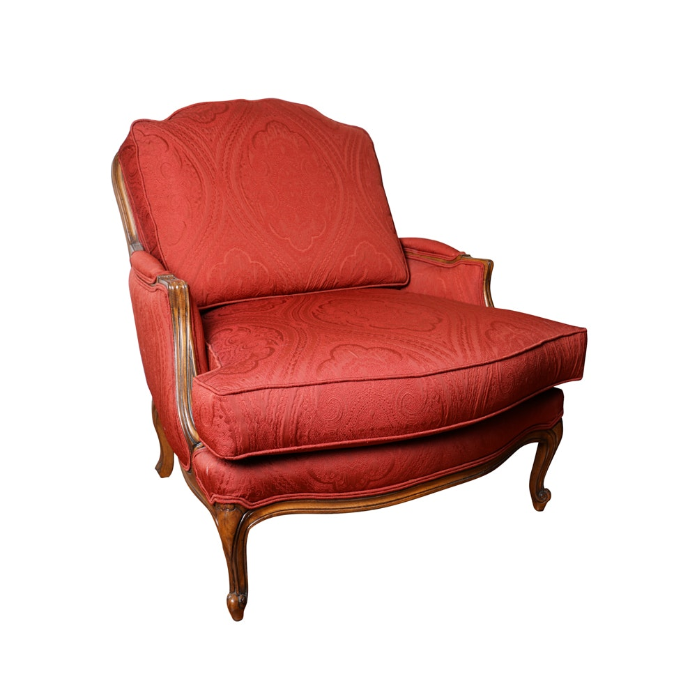 Upholstered Bergere by Ethan Allen
